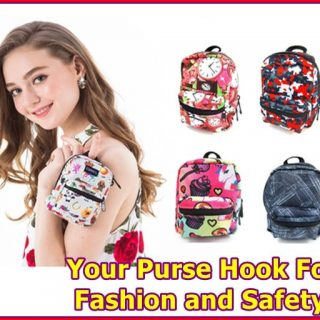 Your Purse Hook For Fashion and Safety