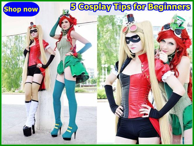 5 Cosplay Tips for Beginners