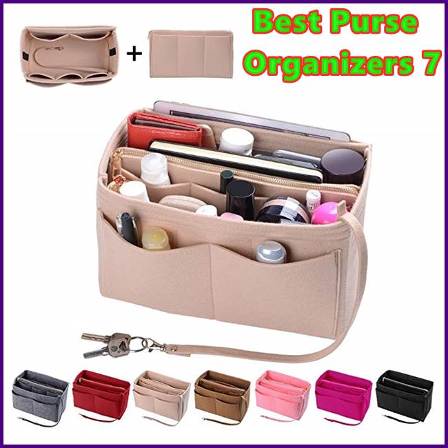 Best Purse Organizers - 7 Ways How a Purse Organizer Can Save Your Life
