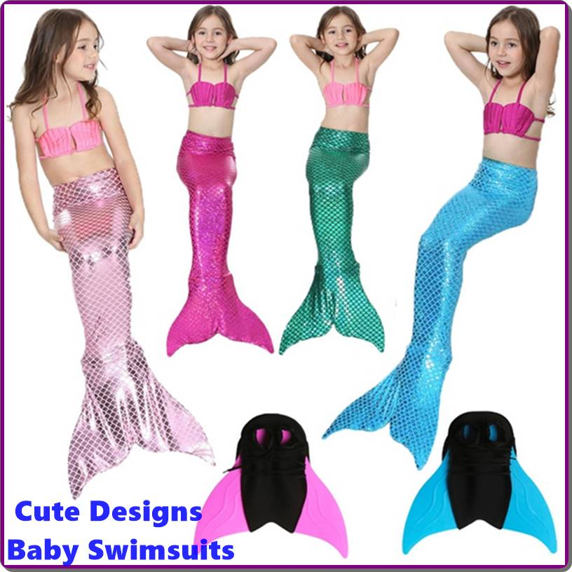 Cute Designs For Baby Swimsuits and Toddler Swimwear