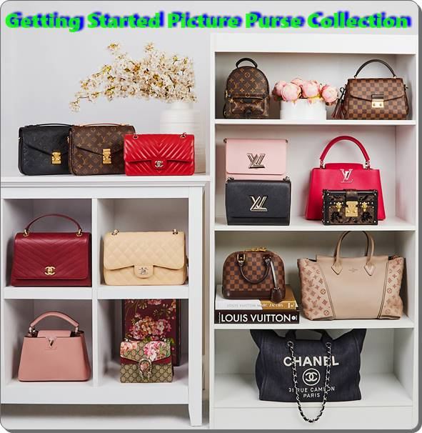 Getting Started with a Picture Purse Collection