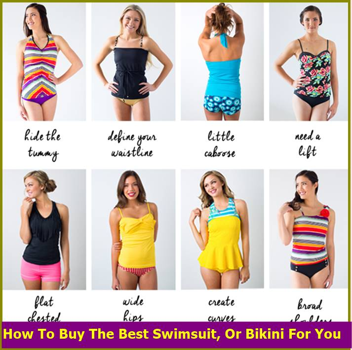 How To Buy The Best Swimsuit Or Bikini For You