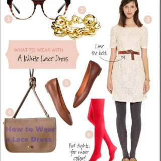 How to Wear a Lace Dress