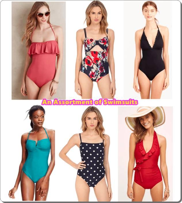 An Assortment of Swimsuits