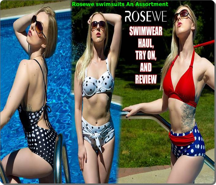 Rosewe swimsuits An Assortment