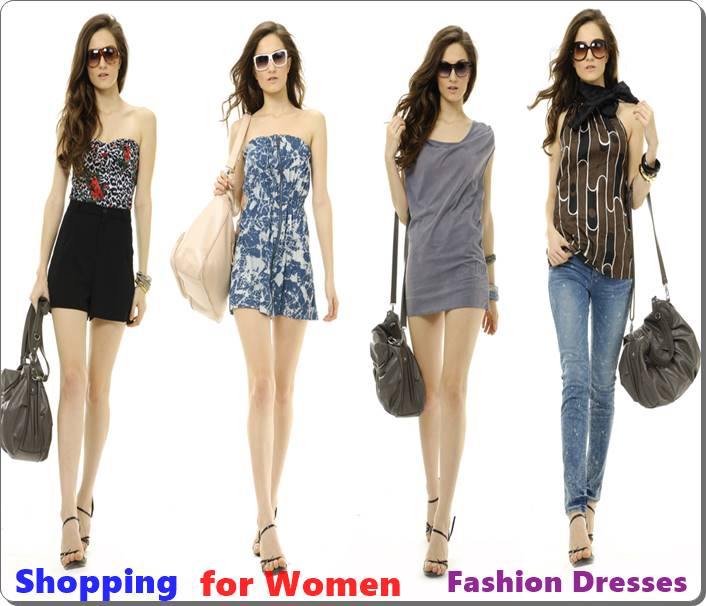 Shopping for Women Fashion Dresses