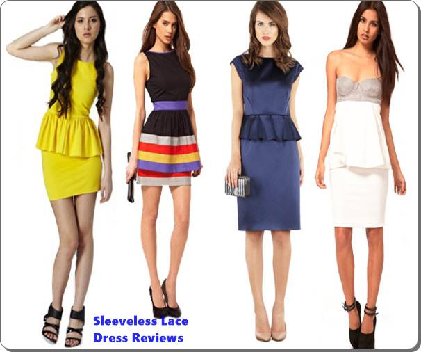 Sleeveless Lace Dress Reviews