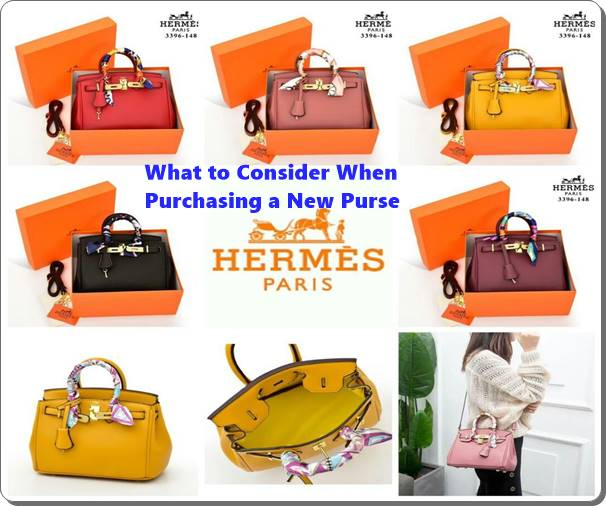 What to Consider When Purchasing a New Purse