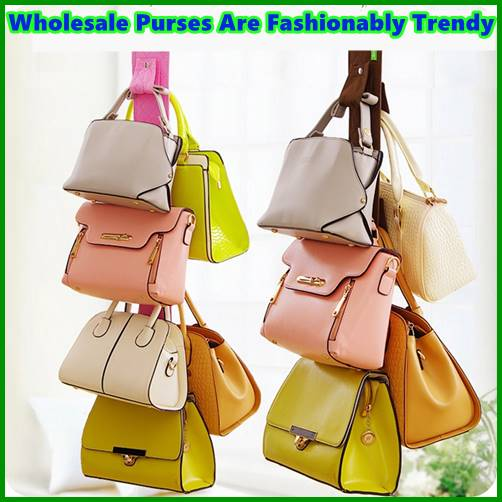 Wholesale Purses Are Fashionably Trendy