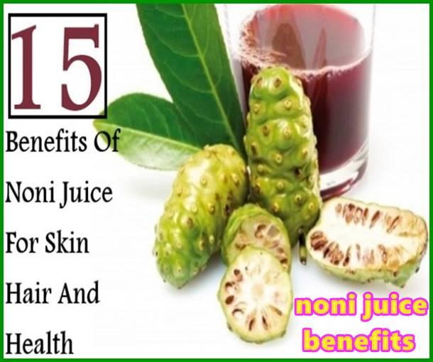 noni juice benefits