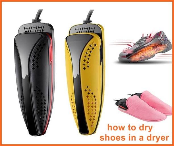 how to dry shoes in a dryer
