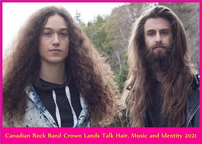 Canadian Rock Band Crown Lands Talk Hair, Music and Identity