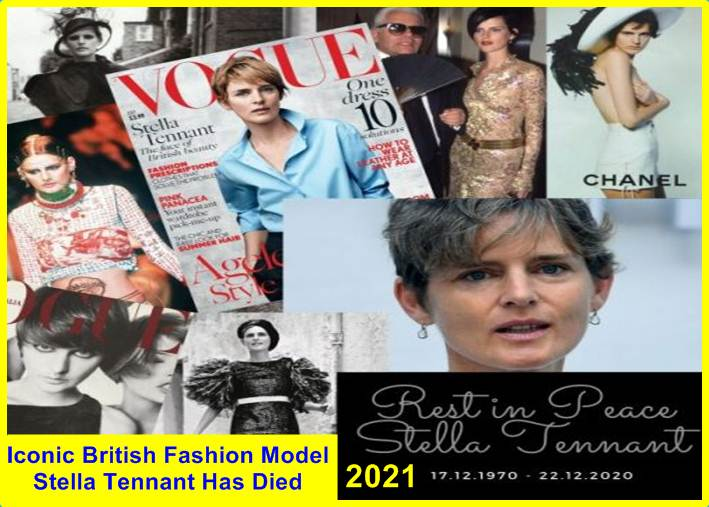 Iconic British Fashion Model Stella Tennant Has Died