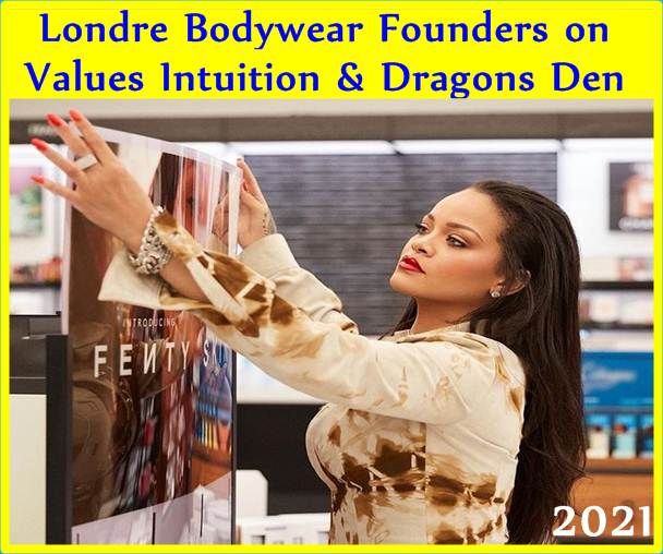 Londre Bodywear Founders on Values Intuition & Dragons Den