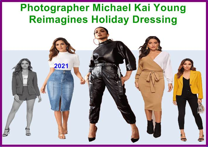 Photographer Michael Kai Young Reimagines Holiday Dressing