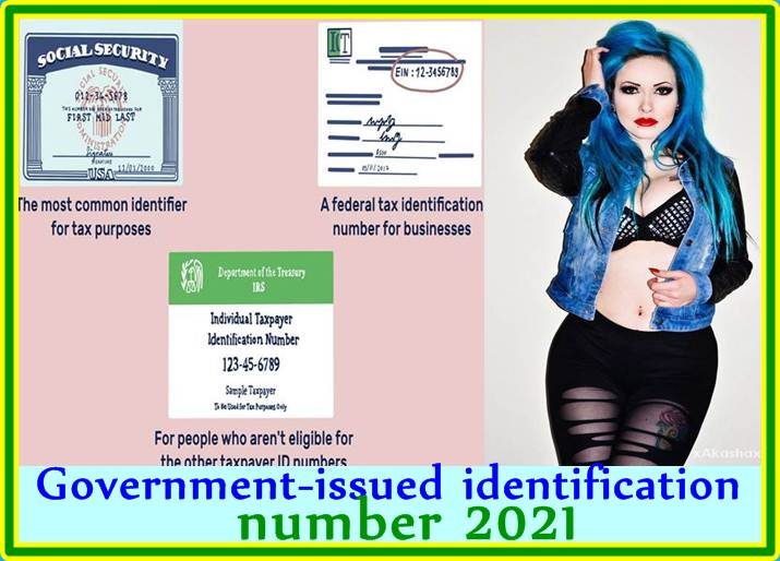 Government-issued identification number