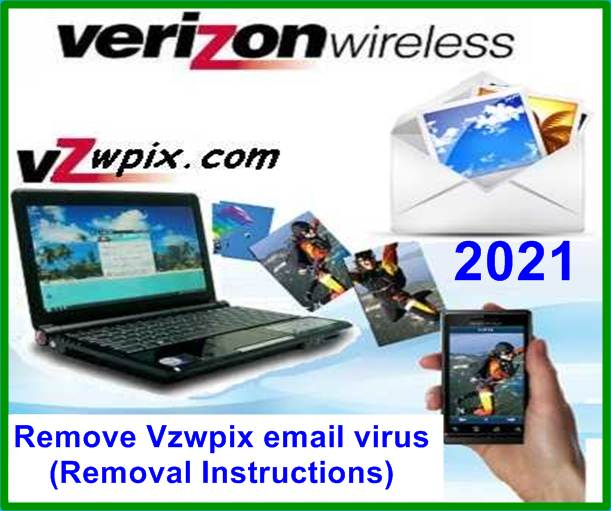Remove Vzwpix email virus (Removal Instructions)