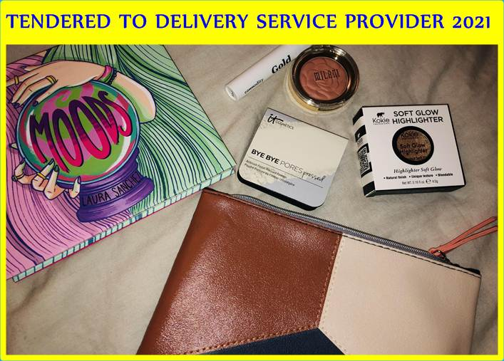 TENDERED TO DELIVERY SERVICE PROVIDER