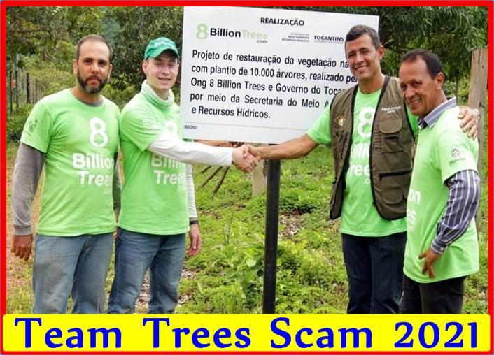 Team Trees Scam