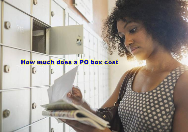 How much does a PO box cost