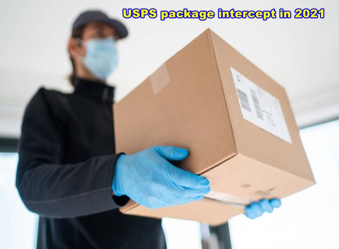 USPS package intercept