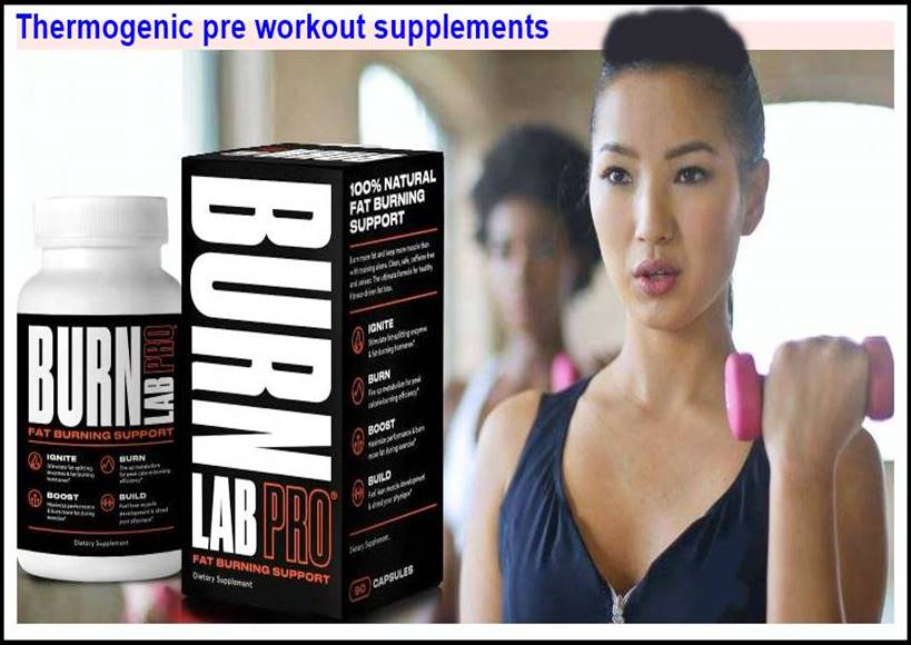 Thermogenic pre workout nutrition or supplements