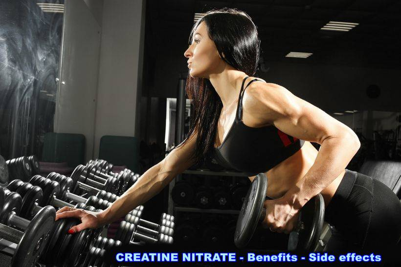CREATINE NITRATE - Benefits - Side effects
