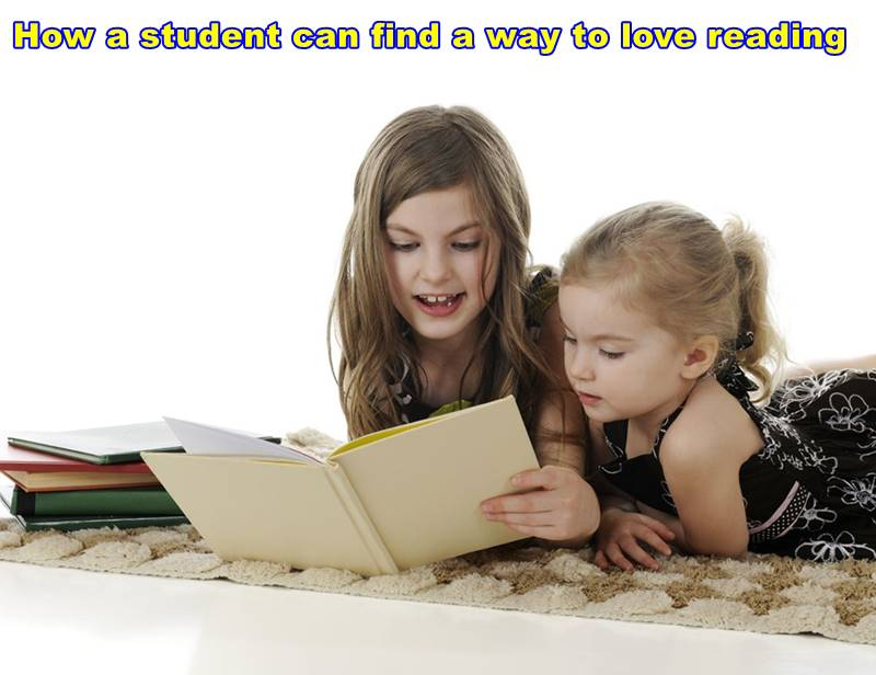 How a student can find a way to love reading