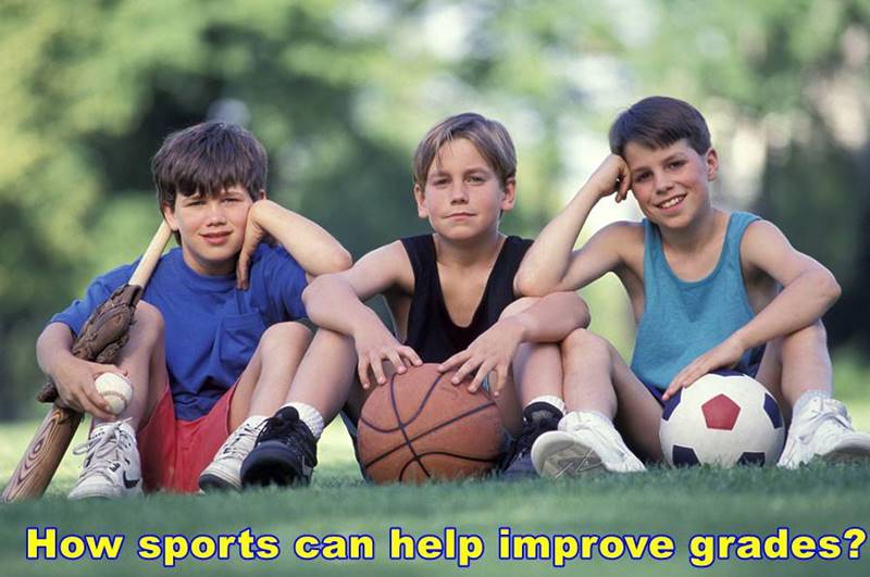 How sports can help improve grades